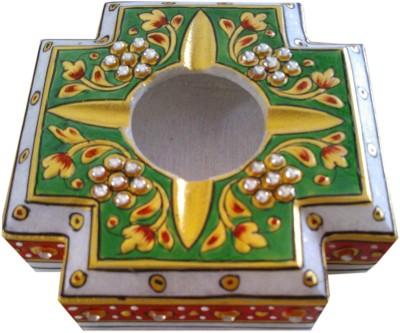 krishna art Multicolor Marble Ashtray