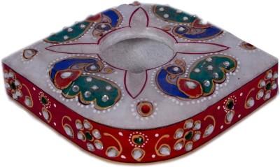 JOSHI ARTS Red, Green Marble Ashtray