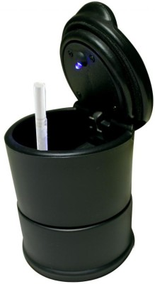 Speedwav Blue LED light for Car / Home / Office Black Plastic Ashtray