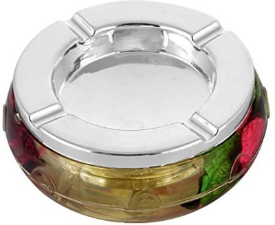 Hariom Enterprises Multicolor Plastic Ashtray(Pack of 1)