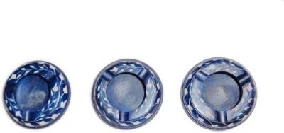 giftpointinc Blue Ceramic Ashtray