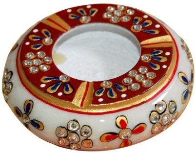 Jaipurikala Multicolor Marble Ashtray