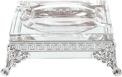 Ekaani Silver Silver Plated Ashtray