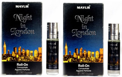 Mayur Night In London Roll On(Pack Of 2) Floral Attar