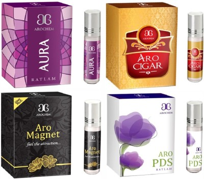 Arochem Aro PDS Aro cigar Aro magnet Aura Combo Floral Attar