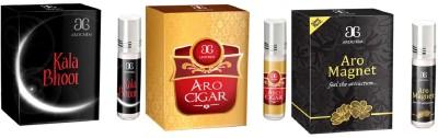 Arochem Aro Cigar Aro Magnet Kala Bhoot Combo Floral Attar