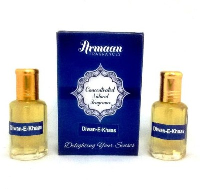 Armaan Diwan-E-Khaas (Two Pcs Set) Floral Attar