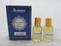 Armaan Gold Sandal (Two Pcs Set) Floral Attar(Sandalwood)