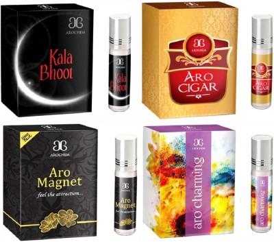 Arochem Aro Charming Aro Cigar Aro magnet Kala Bhoot Combo Floral Attar