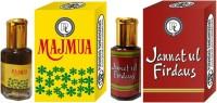 Purandas Ranchhoddas PRS Jannatul-Firdaus & Majmua 12ml Each Herbal Attar(Jannat ul Firdaus)