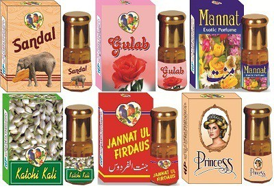 Hyderabad Perfumers 123 Floral Attar