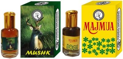 PURANDAS RANCHHODDAS PRS Mushk & Majmua 6ml Each Herbal Attar