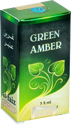 Al-Faiz Green Amber Herbal Attar