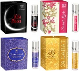 Arochem 24 Carat Sweet love Zannatul firdaus Kala Bhoot Combo Floral Attar