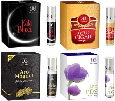 Arochem Aro PDS Aro cigar Aro magnet Kala Bhoot Combo Floral Attar