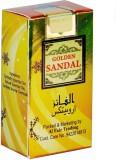 Al-Faiz Golden Sandal Roll On Floral Att...