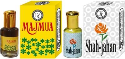 PURANDAS RANCHHODDAS PRS Majmua & Shah-Jahan 12ml Each Herbal Attar