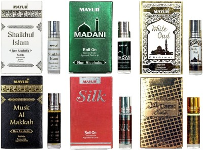 Mayur Different Arabian Fragrances Of 8 ml Each Floral Attar