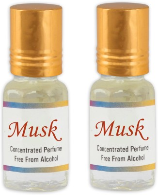 KHSA Musk (Pack of 2) Floral Attar