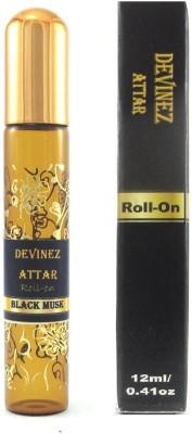 Devinez BLACK MUSK- Roll On Herbal Attar