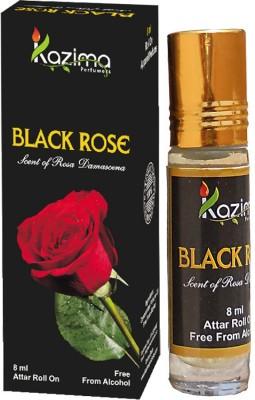 Kazima Perfumers Black Rose Perfume 8 ML Floral Attar