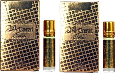 Mayur 24 Gold Roll On (Pack Of 2) Floral Attar