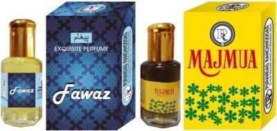 PURANDAS RANCHHODDAS PRS Fawaz & Majmua 12ml Each Herbal Attar