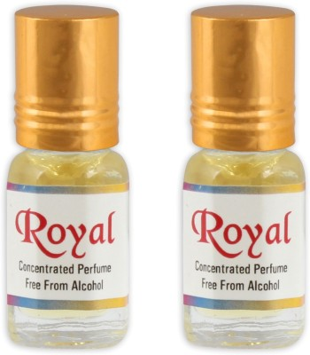KHSA Royal(Pack of 2) Herbal Attar