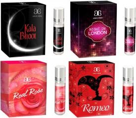 Arochem Romeo Night in london Real rose Kala Bhoot Combo Floral Attar