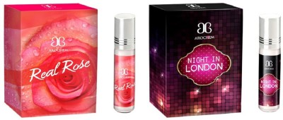 Arochem Night in london Real rose Combo Floral Attar