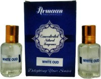 Armaan White Oud (Two Pcs Set) Floral Attar(Oud (agarwood))