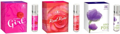 Arochem Charming Girl Real rose Aro PDS Combo Floral Attar