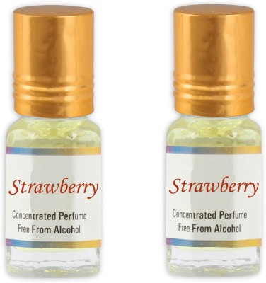 KHSA Strawberry (Pack of 2) Floral Attar