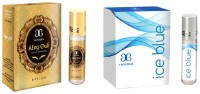 Arochem Ice blue king oudh Combo Floral Attar(Sandalwood)