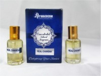Armaan Real Chandan ( Two Pcs Set) Natural Fragrance Floral Attar(Sandalwood)