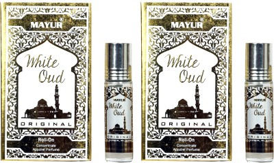 Mayur White Oud Combo Floral Attar