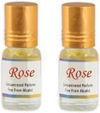 KHSA Rose (Pack of 2) Floral Attar (Rose...