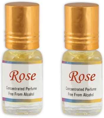KHSA Rose (Pack of 2) Floral Attar