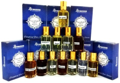 Armaan Pack of 12 Pcs set Floral Attar(Floral)