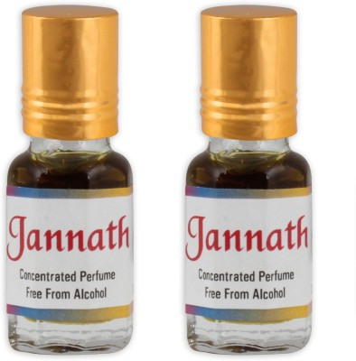 KHSA Jannat Ul Firdaus (Pack of 2) Herbal Attar