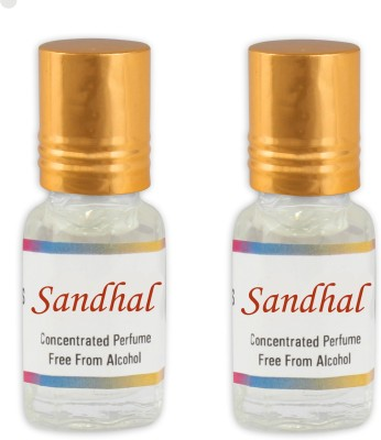 KHSA Sandhal (Pack of 2) Floral Attar