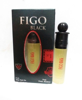 Al-Nuaim Figo Black 0901 Floral Attar