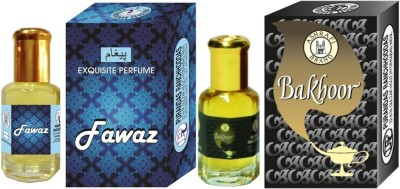 PURANDAS RANCHHODDAS PRS Fawaz & Bakhoor Attar 6ml Each Herbal Attar