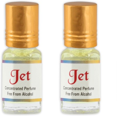 KHSA Jet (Pack of 2) Herbal Attar