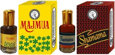 PURANDAS RANCHHODDAS PRS Majmua & Shamama 12ml Each Herbal Attar