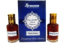 Armaan Musk Amber (Two Pcs Set) Floral Attar(Musk Arabia)