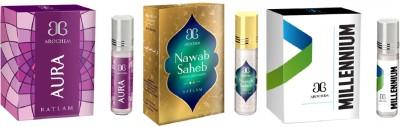 Arochem Millennium Nawab saheb Aura Combo Floral Attar