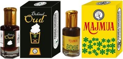 PURANDAS RANCHHODDAS PRS Dehnal-Oud & Majmua 6ml Each Herbal Attar