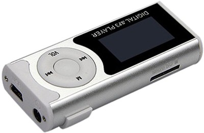 Khatu Great Sound Good Battery Life with LED torch MP3 Player(Metallic silver, 1 Display)