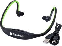 De-TechInn Sports Portable Wireless Bluetooth Stereo Headset Headphones Earphones for Gym Running Jogging Music 2 GB MP3 Player(Multicolor, 0 Display)